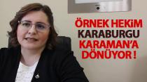 Uzman Dr. Sülbiye Karaburgu İlimize Dönüyor
