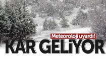 Karaman'a kar yağışı bekleniyor, O tarihe dikkat !