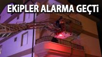 Karaman'da itfaiyeyi alarma geçiren olay