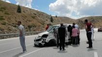 4 kişinin yaralandığı trafik kazasında kadının kolu koptu