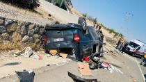 Malatya'da trafik kazası: 1 ölü, 4 yaralı!