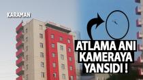 Karaman'da metrelerce yükselkikten atlayan genç hayatını kaybetti