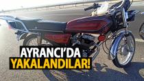 Konya'da motosiklet çalan 3 kişİ Karaman'da yakalandı
