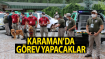 Eğitimlerinin ardından Karaman'a geliyorlar