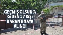 Gaziantep'de bir kişinin testi pozitif çıktı, 'geçmiş olsun'a giden 27 kişi karantinaya alındı