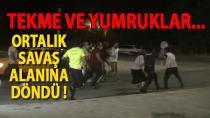 Karaman'da kaza sonrası ortalık savaş alanına döndü !
