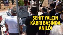 15 Temmuz Şehidi Muhammed Yalçın Kabri Başında Dualarla Anıldı