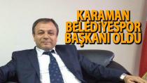 Karaman Belediyespor'un başkanı değişti