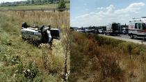 Hatalı sollama pahalıya patladı: 2 ölü, 2 yaralı