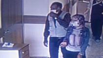 Korona testi pozitif çıkan kız ve babası hastaneden kaçtı