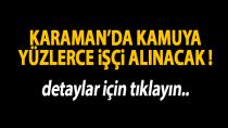 Karaman'da okullara işçi alınacak