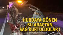 Karaman-Konya yolunda feci kaza ! 4 kişi yaralandı