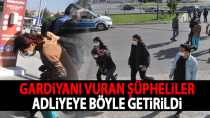 Karaman'da cezaevi önünde çıkan olay ile ilgili 3 şüpheli adliyede