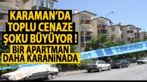 Karaman'da bir apartman daha mühürlendi
