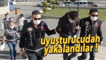 Karaman'da uyuşturucu ticaretinden 3 kişi yakalandı