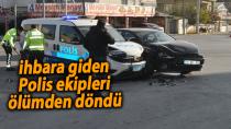 Karaman'da cezaevinde isyan alarmına giden polisler ölümden döndü