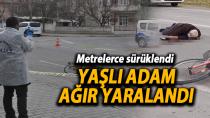 Karaman'da kanlar içinde yere yığılan yaşlı adam ağır yaralandı