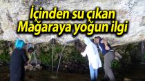 Kervanların konakladığı Kayaönü Mağarası ilgi görüyor