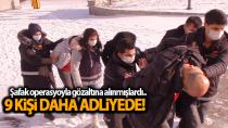 Karaman'da şafak operasyonu ile gözaltına alınanlardan 9'u daha adliyede