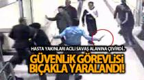 Karaman'da hasta yakınları acil servisi birbirine kattı! 1 görevli bıçaklandı..