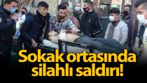 Karaman'da silahlı saldırıya uğrayan genç yaralandı