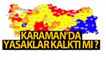 Kısıtlamalar Karaman'da devam edecek mi?