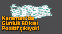 Haftalık vaka sayıları açıklandı! Karaman'da artış devam ediyor..