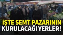 Karaman'da 4 ayrı yere pazar kurulacak!