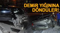Karaman'da meydana gelen trafik kazasında 2 kişi yaralandı
