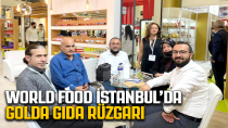 WORLD FOOD İSTANBUL'DA GOLDA GIDA RÜZGARI